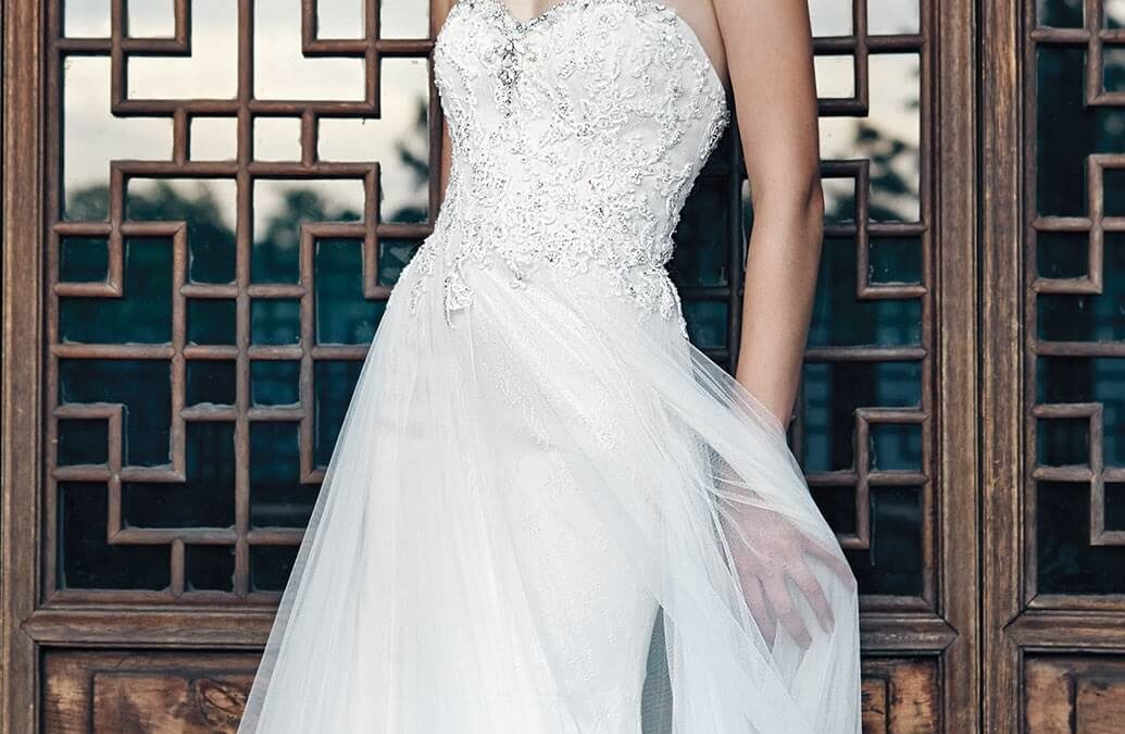 Badgley Mischka Wedding Gowns now at The White Dress Bridal Boutique!