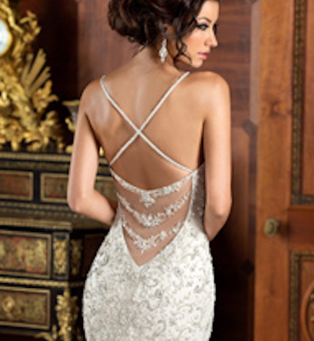 It's all in the details: Wedding Gowns with Unique Backs